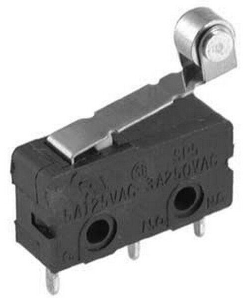 Hardwerkend 03038215 Microswitch Subminiatura Con Levetta E Rotella Matige Prijs