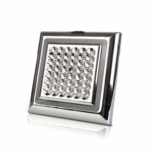 XTRONS 42LED Bright White Car Vehicle Roof Ceiling Dome Interior Light Lamp 12V