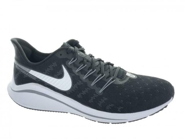 outlet store 483a3 a7b85 Men's Nike Air Zoom Vomero 14 Running Shoes AH7857-001 Black Grey Size 10