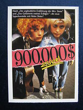 Filmplakatkarte cinema   900000 $ zuviel   Helen Slater