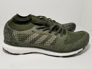 in stock cdfb7 dcecf Image is loading Adidas-Adizero-Prime-LTD-Boost-Cargo-Olive-Green-