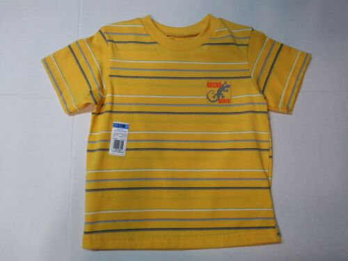Baby Toddler Boys T-Shirt Striped w// Patch Graphics Assorted 18 24 Months 4T 5T