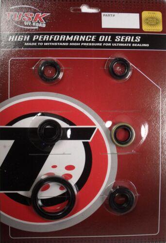 Tusk Engine Oil Seal Kit Fits Kawasaki KFX 450R 2008–2014
