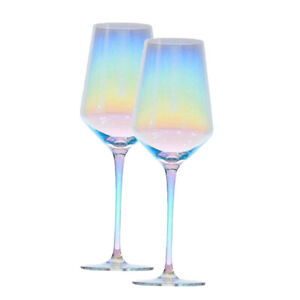 2x-Colorful-Wine-Glasses-Red-White-Drinking-Goblet-Cup-Wedding-Dinner-Party