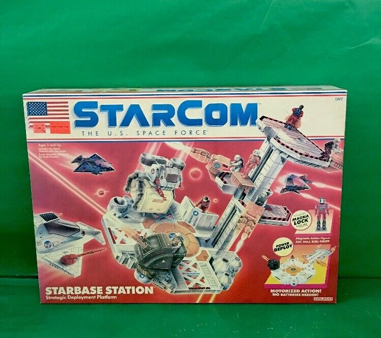 1997 StarCom  STARBASE STATION  NIB By Coleco No.1392