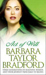 Act-of-Will-Bradford-Barbara-Taylor-Used-Good-Book
