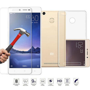 premium selection 1f145 207f4 Details about Xiaomi Mi Max Tempered Glass Screen Protector and Ultra Thin  TPU Clear Soft Case
