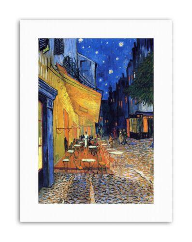 VINCENT VAN GOGH CAFE TERRACE PLACE DU FORUM ARLES 1888 Canvas art Prints