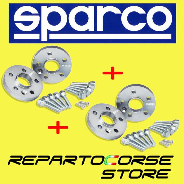 KIT 4 ENTRETOISES SPARCO 12 mm avec BOULONS - FIAT 500 ABARTH 595 160CV