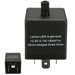 1pcs-12V-3-PIN-Electronic-LED-Adjustable-Flasher-Relay-For-Car-Turn-Signal-Light