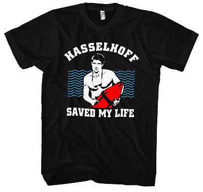 Hasselhoff saved my Life Herren KapuzenpulloverBaywatch Knight Rider David