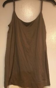 6773694fdee53 Image is loading NW-VANITY-FAIR-WALNUT-BROWN-STRETCH-TAILORED-CAMISOLE-