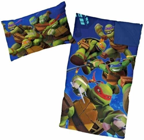 Ninja Turtle Sleeping Bags for Boys Slumber Bag and Pill 45 Degrees Fahrenheit