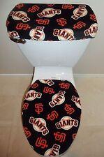 MLB SAN FRANCISCO GIANTS Fabric Toilet Seat Cover Set Bathroom Accessories