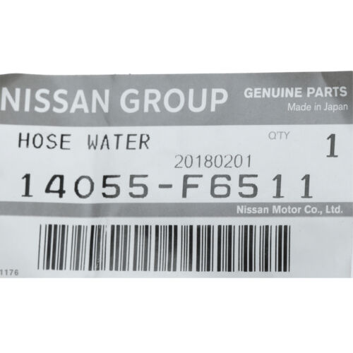 1990-1996 Nissan 300ZX Radiator Coolant Water Bypass Hose Tube OEM NEW