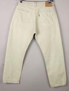 Levi's Strauss & Co Herren 501 Gerades Bein Jeans Größe W38 L30 BCZ611
