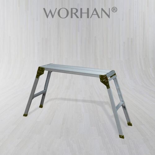 Builder travail hop up aluminium compact pliable banc de travail hauteur = 75cm 150kg