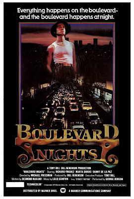 BOULEVARD NIGHTS Movie POSTER 11x17 Richard Yniguez Danny De La Paz Marta DuBois