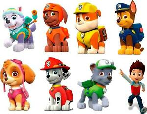 Paw Patrol 3d Wall Sticker Set Decor Art Kids Decal