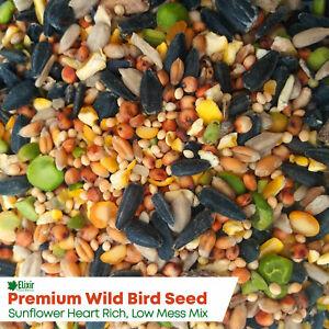 Elixir Wild Bird Food   High Energy, Low Mess Bird Seed Mix   20kg Bulk Bags