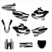 Yz125 Yz250 Graphics Deco Kit For Yamaha 2015 2016 1900 Gray Metal