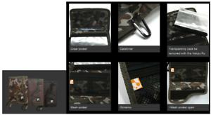 Sale Gee Crack Tackle Wallet Multi Purpose Size M Black 0195