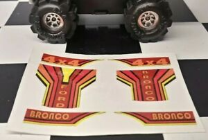 Custom-Schaper-Stomper-FORD-BRONCO-4x4-Truck-DECALS-STICKERS-Handmade