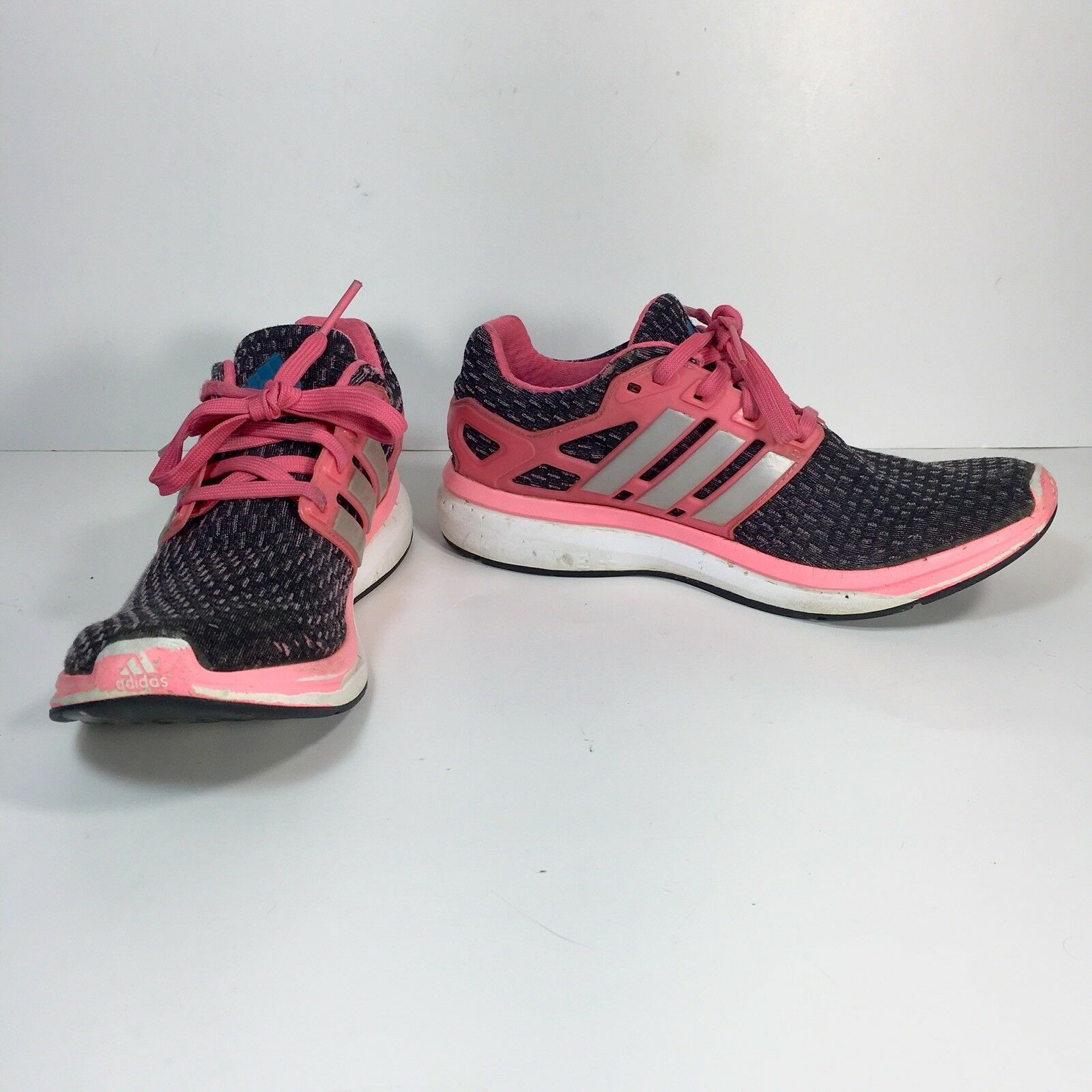 Adidas Pureboost Reveal Women's 5 M Pink White Black Training Gym Athletic Shoes