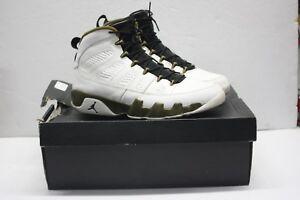 new product 5713e b2085 Image is loading Nike-Air-Jordan-Retro-IX-9-MILITIA-GREEN-