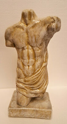 Greek Sculpture Wall Bas-relief Torso of Hercules Fragment of Lysippus Statue