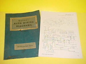 1956 LINCOLN CONTINENTAL MARK II AUTO CAR WIRING DIAGRAMS ...