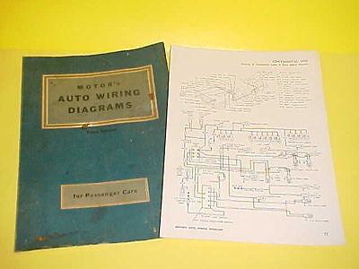 1956 LINCOLN CONTINENTAL MARK II AUTO CAR WIRING DIAGRAMS ...