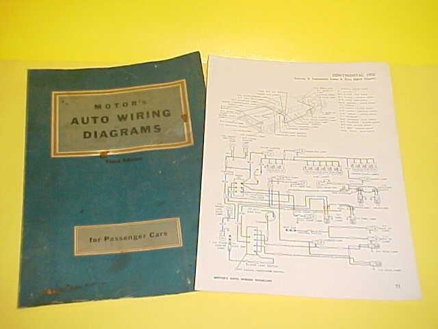 1956 Lincoln Continental Mark Ii Auto Car Wiring Diagrams