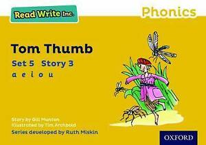 Read-Write-Inc-Phonics-Yellow-Set-5-Storybook-3-Tom-Thumb-by-Gill-Munton