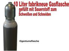Sauerstoffflasche 10 Liter Gasflasche Schweißen und Schneiden
