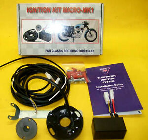 TRIUMPH-BSA-ELECTRONIC-IGNITION-KIT-12-volt