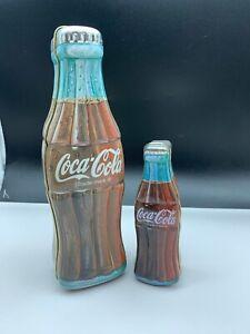 Coca-Cola-Tins-2-Piece-14-5-9-3-8in-Top-Condition