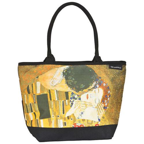 Arte Shopper 4159 Oro Kiss Dauomo Tracolla The Klimt Gustav Tracolla wvBtq5Z