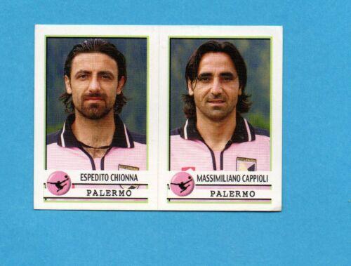 CHIONNA+CAPPIOLI PALERMO Figurina n.544 NEW PANINI CALCIATORI 2001//02