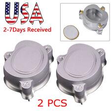 2pcs Dental Aluminium Denture Flask Compressor Parts Dental Lab Equipment System
