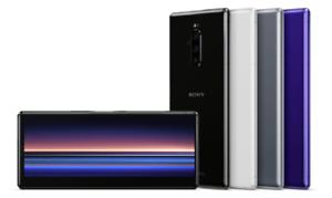 "Sony Xperia 1 J9110 Dual-SIM 6/128GB 6.5"" OLED 4K HDR IP68 Phone By FedEx*"