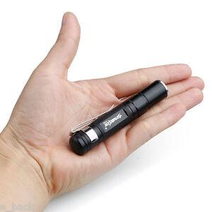 Waterproof-3500LM-Pocket-LED-Flashlight-Zoomable-LED-Torch-Mini-Penlight-LightGA