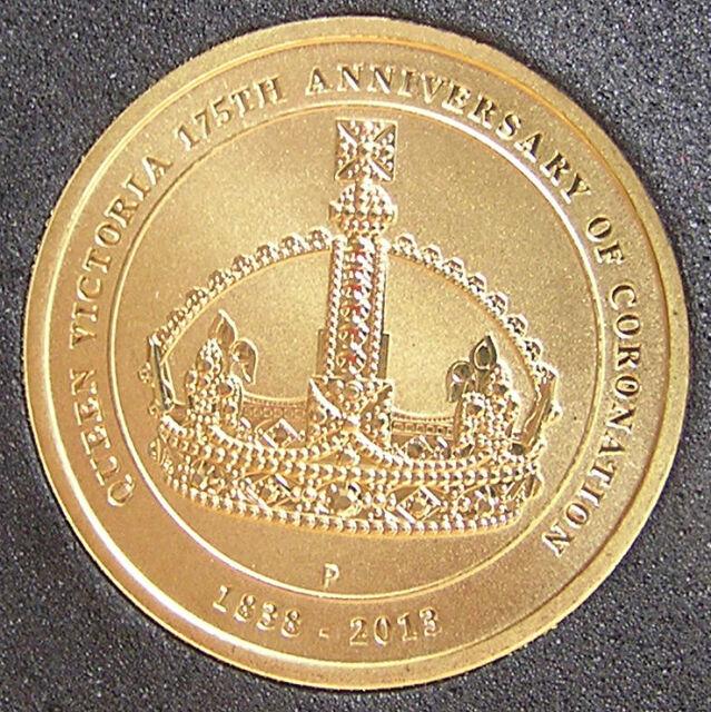 *2013 Australian '175th Anniversary of Queen's Victoria Coronation' $1 UNC*