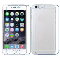 3x FRONT+BACK Clear/Matte Screen Protector Guard Film Cover for Apple iPhone