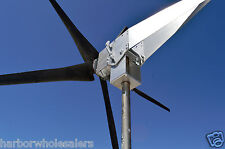 Typhoon Up Tilting Unibody Yaw Wind Turbine Generator 5KT props 48 Volt DC Power