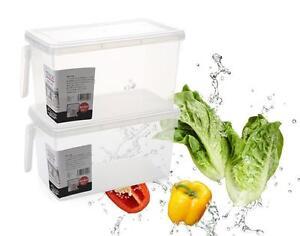 Kühlschrank Box : Lebensmittel lagerung container küche sealed crisper kühlschrank