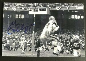 GARY COLLINS NFL Cleveland Browns Football Auto Autographed Signed 4x6 Photo 3