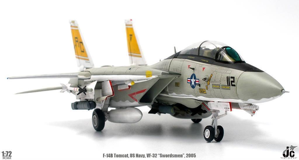 JCW72F14004 1 72 F-14B TOCAT US NAVY VF-32 SWORDSMEN USS.TURuomo CVN-75