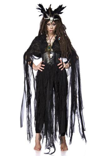 Remue-Sorcières Costume VODOO Witch vaudou Sorcière Costume Femmes Mardi Gras Carnaval XS-L