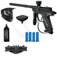 Azodin BLITZ Evo Electronic Paintball Marker Gun Starter Package - Black